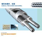 Co-Rotation Conical Twin Screw for Extruder Machine