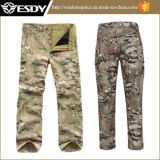 Men's Shark Skin Soft Shell Windproof Breathable Pants Cp