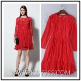 Women's Red Lace Party Cocktail Dress Wholesale