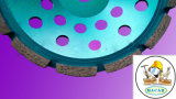 Hot Sale! Diamond Saw Blade Turbo Continuous Cup Wheel
