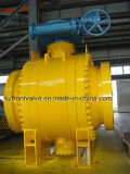 3PC Trunnion Mounted Gear Operated Ball Valve