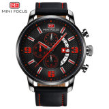 Mini Focus Chronograph Fashion Quartz Wrist Watch with Japan Movement