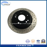 Drilled Painted OE Car Brake Discs for Honda