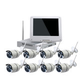 Very Cheap HD 720p Wireless WiFi CCTV Kits with 8PCS IR Waterproof IP Camera Especially Suitable for Office Home Security Install