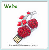 Beautiful Crystal USB Memory Stick for Promotional Gift (WY-D08)