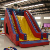 Inflatable Slide with Two Channels