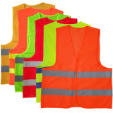Wholesale Knitted Fabric Reflective Safety Vest