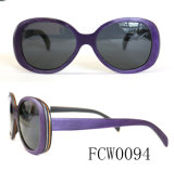 New Design Real Wooden Sunglasses Meet UV400 Standard