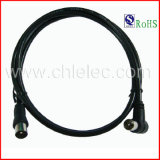OEM Hot Sale High Quality High Speed 9.5mm 3c2V Angle TV a/V Audio Video Cable with RoHS (SY075)