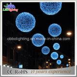 2015 New Blue Ball Shape Christmas Fairy String Light Ball