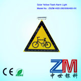 3m Film Solar LED Flashing Traffic Sign / Road Sign