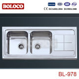 Stainless Steel Kitchen Sink (BL-978)