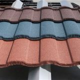 Easy Install Colorful Cheap Stone Coated Steel Roofing Tile