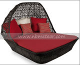 Mtc-049 Outdoor Leisure Rattan/Wicker Daybed
