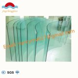 4-19mm Flat/ Curved Decorative Toughened Tempered Glass for Building, Sunroom, Shower Door
