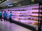 Fan Cooling Open Display Fridge for Supermarket