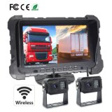 """Wireless Car Front/Rear Backup Reverse Camera with 7"""" Split Screen for for Trucks, Farm Tractor, Cultivator, Trailer, Buses"""