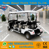 Zhongyi Battery Operated 6 Seats Electric Golf Car with High Quality