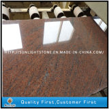Natural Polished Multicolor Red Granite for Slabs/Tiles/Countertops