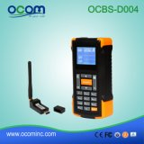 Mini 433MHz Wireless Barcode Scanner with Screen and Memory