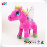 Pink Pony Stuffed Small Horse Toy with Wings