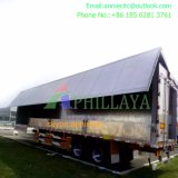 Transportation Vehicle Wholesale Multi Function Cargo Curtainside Trailer