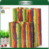 Eco Friendly Recycled Custom Print Paper Promotion Bag