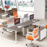 Office Layout Modern 4 People Office Cubicle Workstation (HY-NNH-Z61)