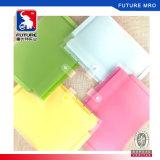 A4 Size Ecofriendly PP Plastic Colored Expanding File Folder Pocket Display File Folder