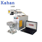 20W 30W 50W Cheap Industry Mini Printing Engraving Marker PVC ID Card Color Raycus Desktop Portable 3D Fiber Laser Marking Machine with Rotary Price