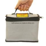 Silicone Fiberglass Aluminum Silica Fireproof Fire Resistant Bag