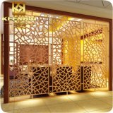 Restaurant Decorative Laser Cut Aluminum Partition Room Divider (KH-WC-013)