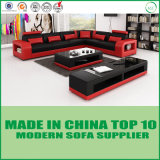 European Contemporary New Design Sectional Leather Sofa Set