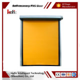 New Style PVC Rapid Rolling Zipper Recovery High Speed Industrial Door