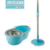 Joyclean New Spin Magic Mop with Improved Microfiber Head