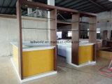 Luxury Modern Fancy Design Square Shape LED Translucent Bar Counter for Restaurant