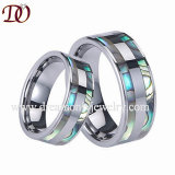 Top Quality Camo Inlay Shiny Tungsten Ring