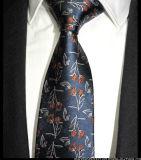 Chinese Style Business Men Hide Blue Pattern Formal Dress Business Wedding Men Silk Tie