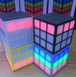 Portable Color FM Radio TF Bluetooth 32 LED Cube Speaker