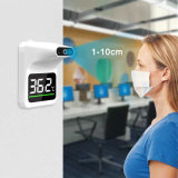 R118b Wall Mounted Infrared Thermometer, Bluetooth Non Contact Infrared Forehead Thermometer