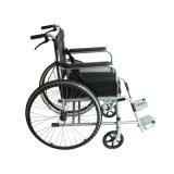 Cheapest Hospital Black Manual Toilet Wheelchair Price