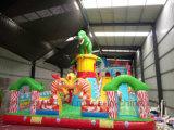 Hot Selling Commercial Infalatable Bouncy Castle Trampoline Slide for Amusement Park