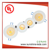 10W Surface Mounted/Recessed COB LED Ceiling/Downlight