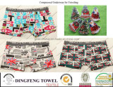 Promotional Gift Compressed Traveling Printed Boxer Underwear Df-2023