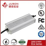 Juson 200W Constant Current LED Power Supply Support 3 in 1 Dimming Ai Adjust Current for All LED Lights with 5 Years Warranty
