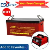 Csbattery 12V 100ah/150ah/200ah Deep-Cycle Gel Solar Battery VRLA/SLA/SMF/Mf/AGM/Rechargeable/UPS/Lead-Acid/Pack/6V/CSA