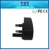 5V 1A UK Wall Plug Adapter with USB