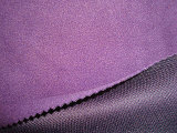 Polar Fleece Bonded Tricot Mesh Fabric