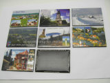 Tin Fridge Magnet with The Scenery Printing Series