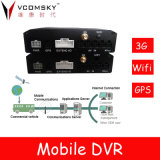 Mobile DVR Support Advertising Screen Docking, Mobile Surveillance, Communication with Peripheral Equipment